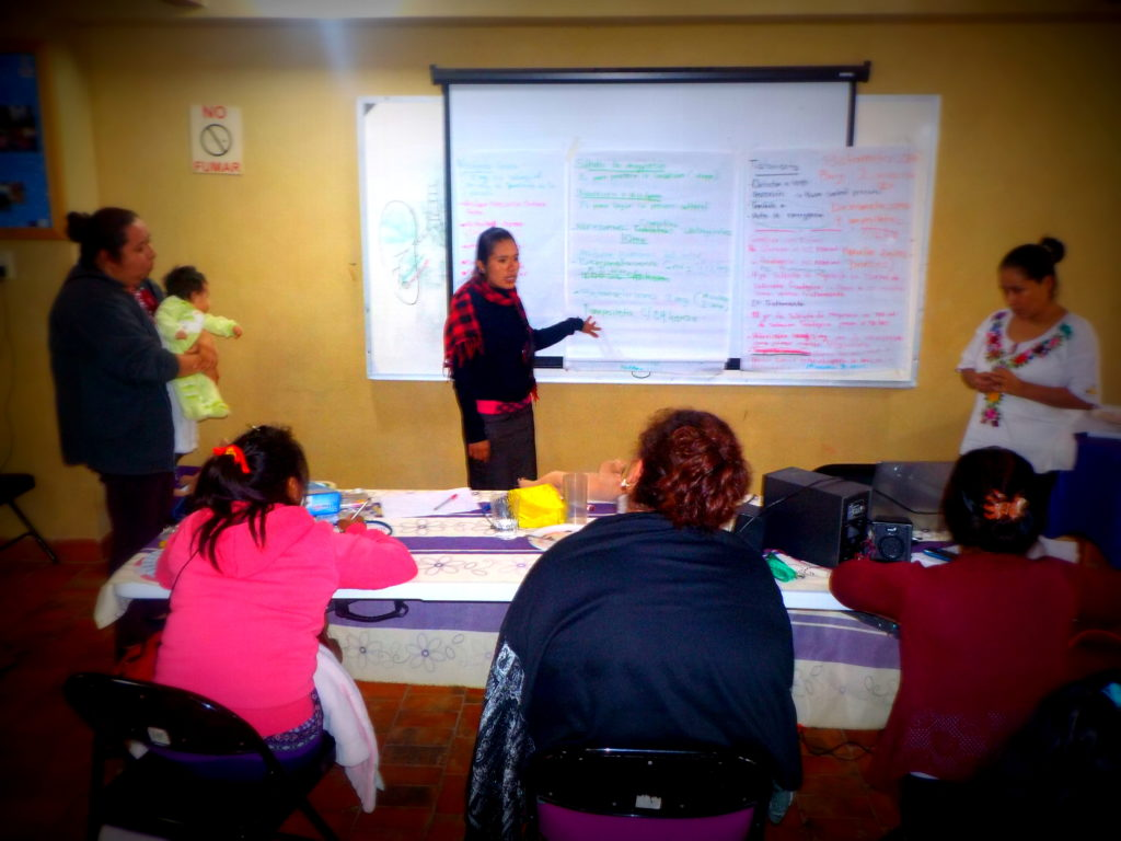 Participantes atentos a las recomendaciones de las y los expertos del tema. Foto: Carolina Damian. FOCA A.C. 2016